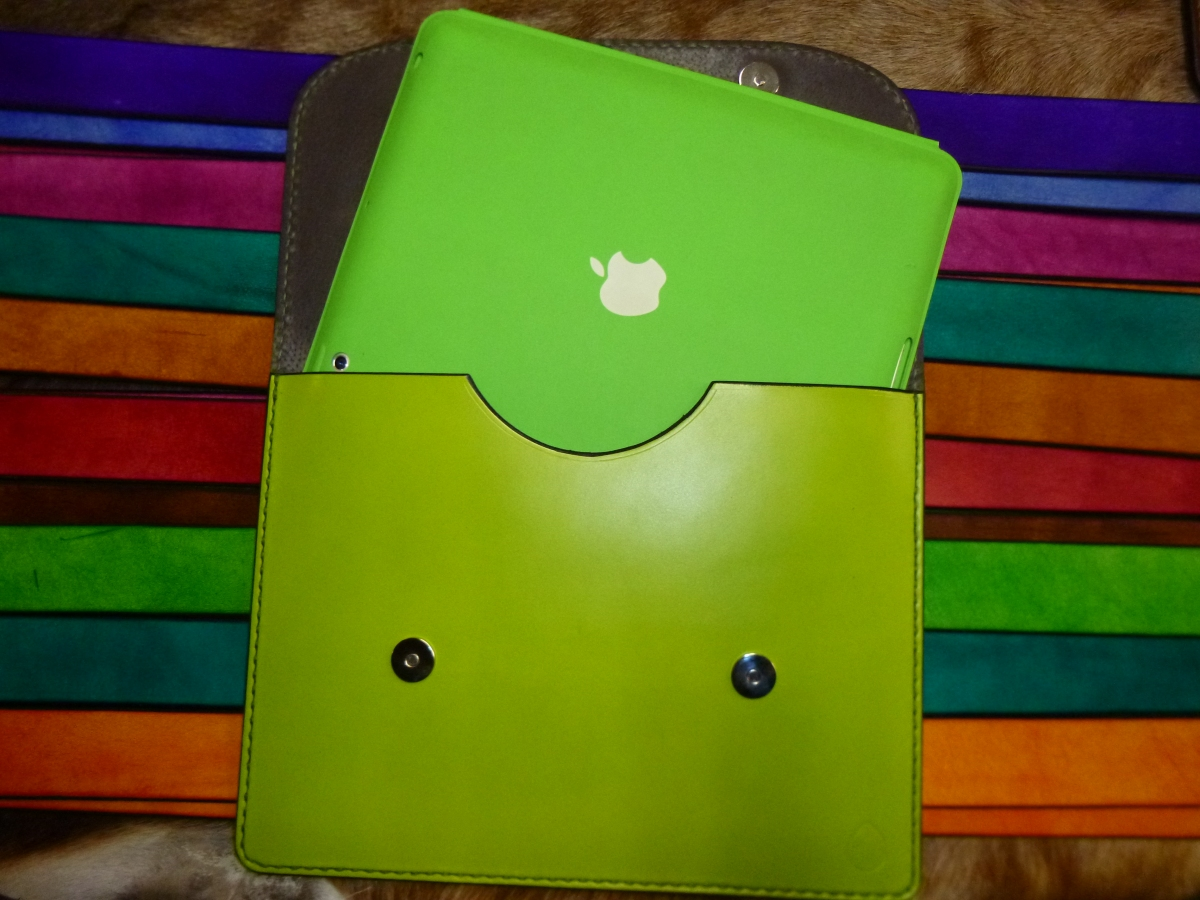 Fundas iPad en color.