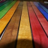 Cinturones de colores.